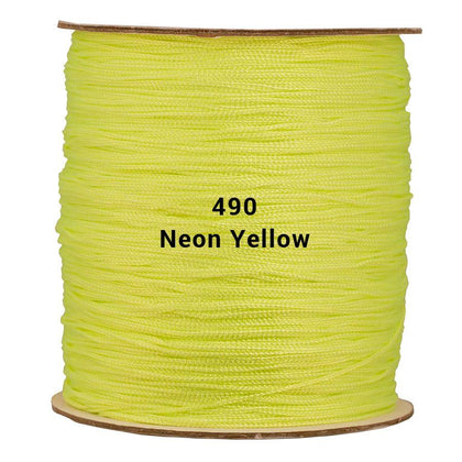 Round Neon Yellow Shawl Fringe 1800ft Spool