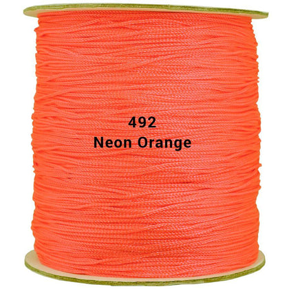 Round Neon Orange Shawl Fringe 1800ft Spool