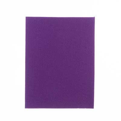 "8.5""x11"" Purple Beading Foundation 4/pk"