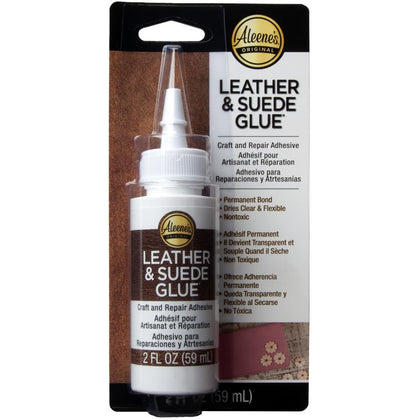 Aleene's Leather & Suede Glue 2oz