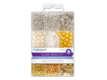 Glass Multi Pack Bead Kit - Metallique