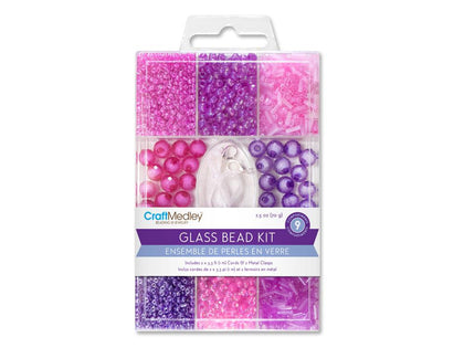 Glass Multi Pack Bead Kit - Blush