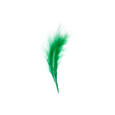 Marabou Feathers Green 6g