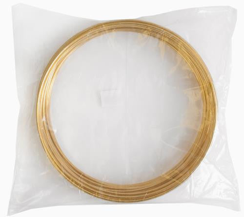 "10"" Dream Catcher Brass Metal Ring - 25/pk"