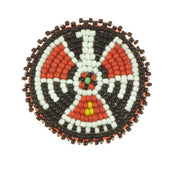 "2"" Rosette Thunder Bird - i-Bead,  product"