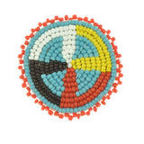 "2"" Rosette Medicine Wheel - i-Bead,  product"