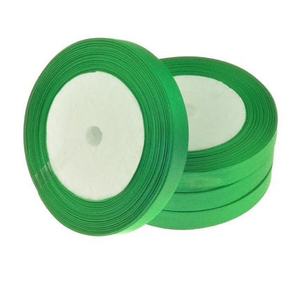 12mm Satin Ribbon Green 25yd - i-Bead,  12MM