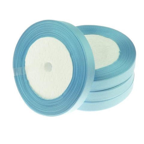12mm Satin Ribbon Light Blue 25yd - i-Bead,  12MM