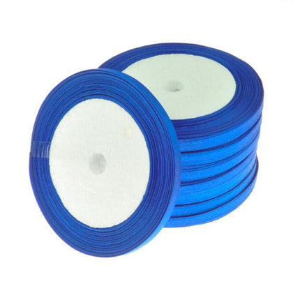 6mm Satin Ribbon Royal Blue 25yd