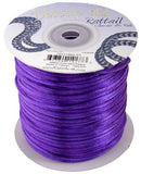 2mm Purple Rattail Cord 100yd