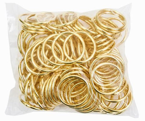"1"" Dream Catcher Brass Metal Rings - 100/Bag - i-Bead,  DREAM CATCHER"