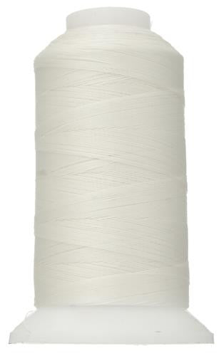White Beading Thread 500m