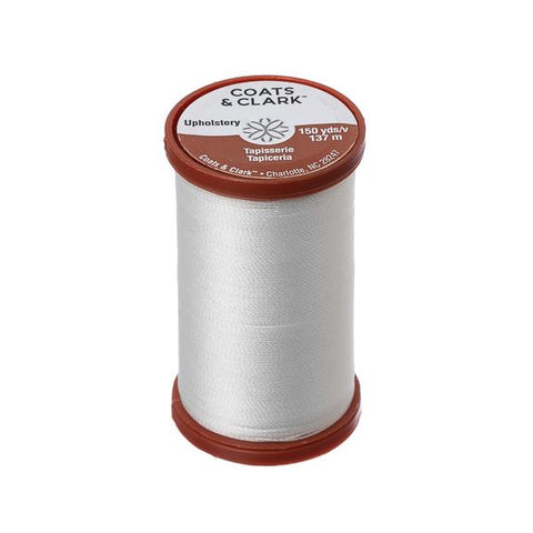 White Leather & Upholstery Thread 150yd