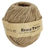 2mm Hemp Twine Natural 300ft
