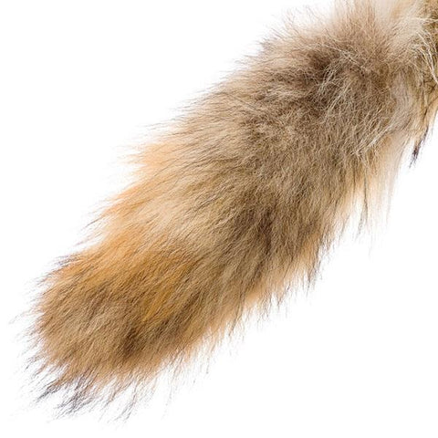 Coyote Fur Tail Keychain