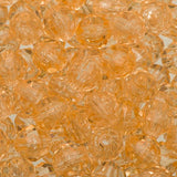 8mm Plastic Facetted Beads 1000/pk - Champagne