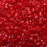 6mm Mini Pony Beads Red 1000/pk