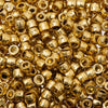 Mini Pony Beads Metallic Gold 500/pk