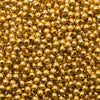3mm Craft Pearls Metallic Gold 1000/pk