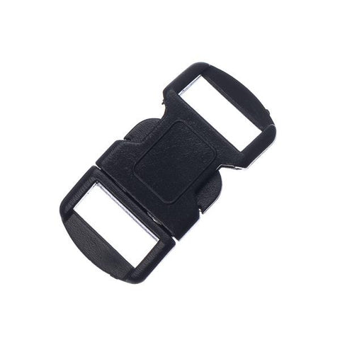 12mm Black Side Release Buckle 6/pk