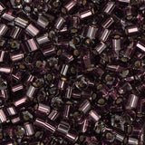 10/0 Czech 2 Cut Seed Beads Silver Lined Purple 22g - i-Bead,  PURPLE