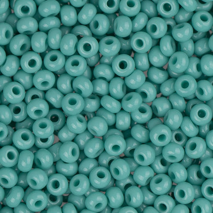 10/0 Czech Seed Beads #006 Opaque Turquoise 22g