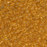 10/0 Czech Seed Beads Tr Light Topaz 22g - i-Bead,  LIGHT TOPAZ