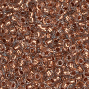 10/0 Czech Seed Beads Copper Lined Crystal 22g - i-Bead,  CRYSTAL