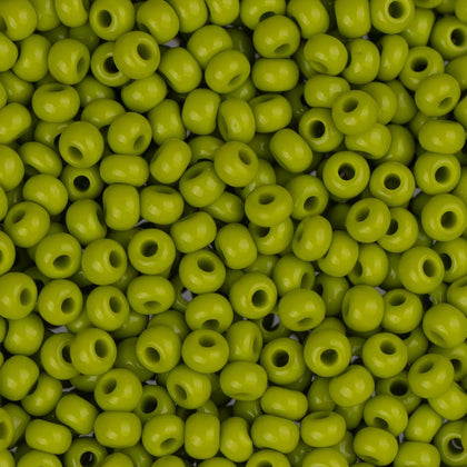 10/0 Czech Seed Beads Opaque Olive 500g