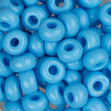 2/0 Czech Seed Beads Opaque Light Blue 22g - i-Bead,  LIGHT BLUE