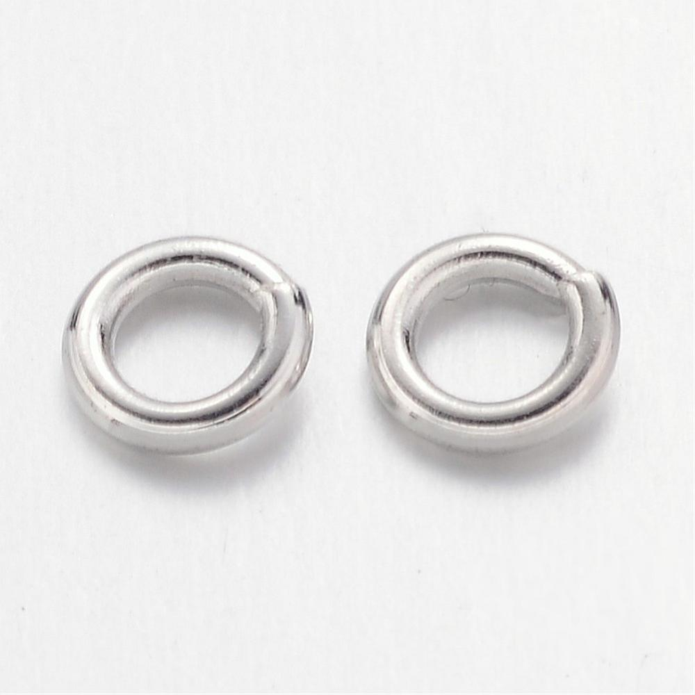 4mm Nickel Jump Rings 100 Grams