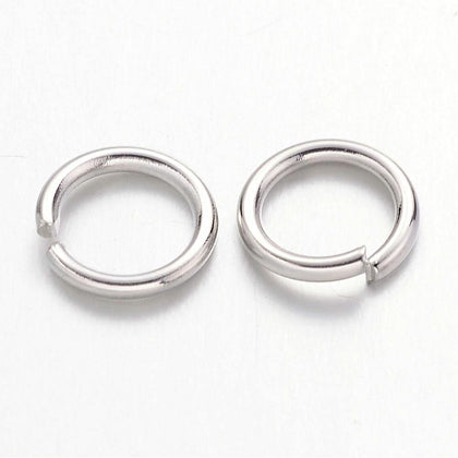 7mm Nickel Jump Rings 100 Grams