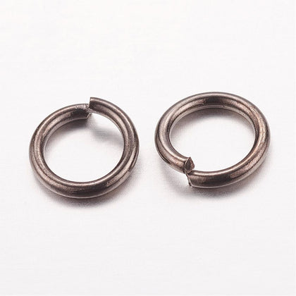 7mm Gunmetal Jump Rings 100 Grams