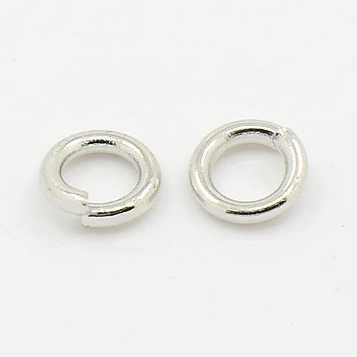 5mm Nickel Jump Rings 25/pk