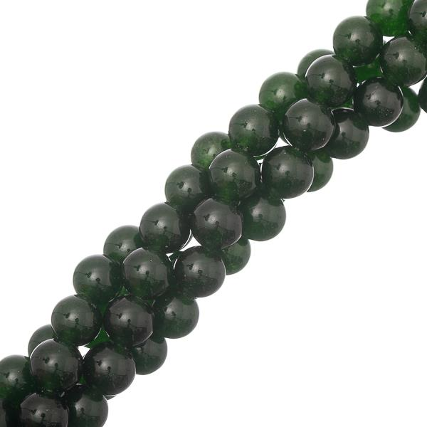 "8mm Jade B.C. (Natural/Dyed) Beads 15-16"" Strand"