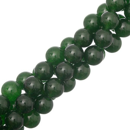 10mm B.C. Jade Gemstone Beads 15-16