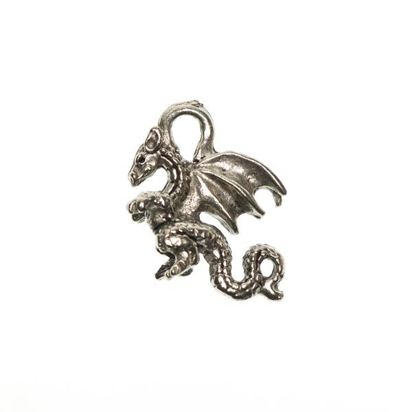 Dragon Metal Charm 1/pk