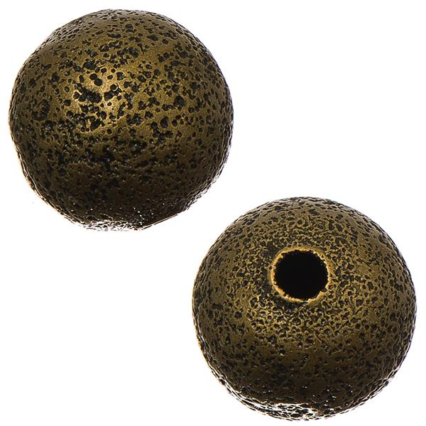 Antique Gold Stardust 4mm Metal Bead 100/pk