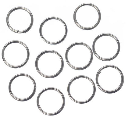 7mm Split Rings Nickel 100g