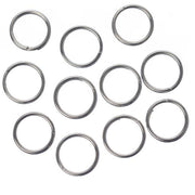 7mm Split Rings Nickel 100/pk