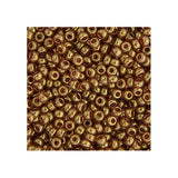 15/0 Japanese Seed Beads Topaz Gold Luster 22g - i-Bead,  JAPANESE SEEDBEAD