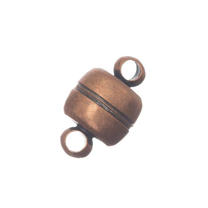 7x11mm Antique Copper Magnetic Clasp 10/pk