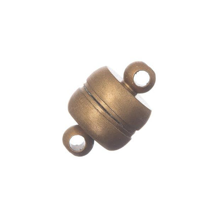 7x11mm Antique Brass Magnetic Clasp 10/pk