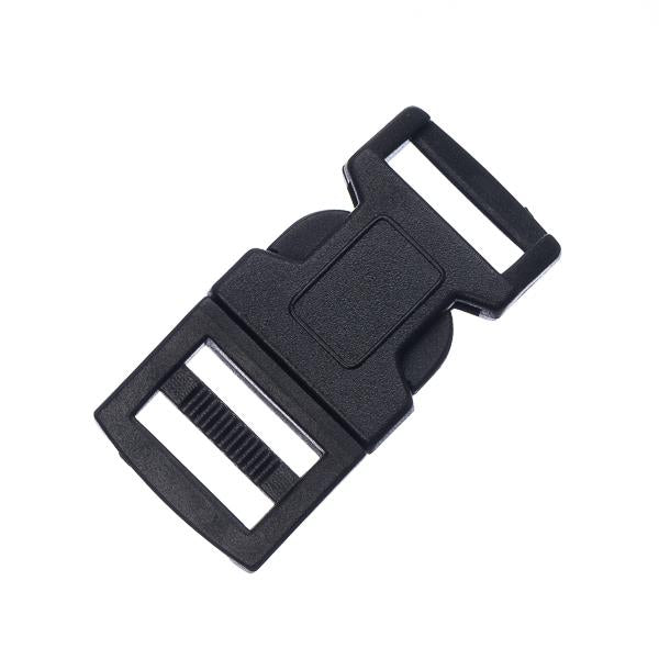 15mm Black Side Release Buckle 5/pk