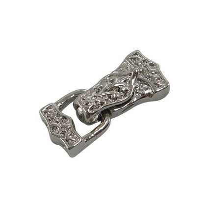 5x20mm Magnetic Nickel Fold Over Clasp 1/pk