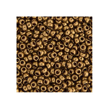 15/0 Japanese Seed Beads Metallic Light Bronze 22g - i-Bead,  JAPANESE SEEDBEAD