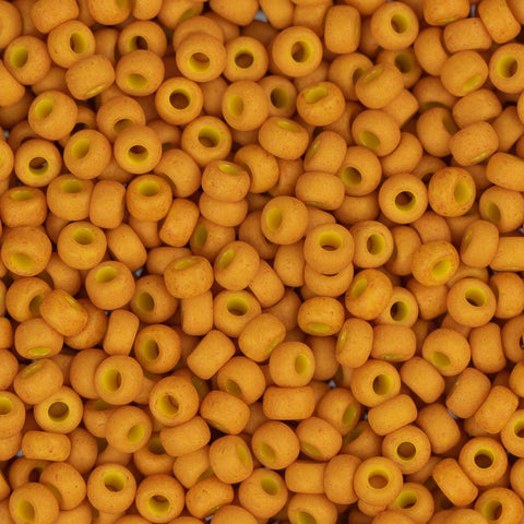 11/0 Japanese Seed Beads Pale Pumpkin 24g
