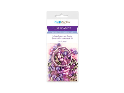 Purple Luxe Bead Kit