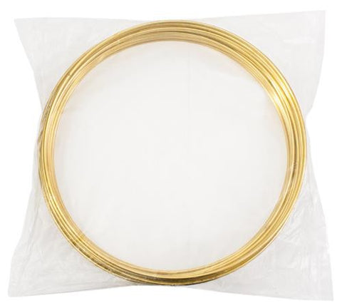 "12"" Dream Catcher Brass Metal Rings 25/pk - i-Bead,  DREAM CATCHER"