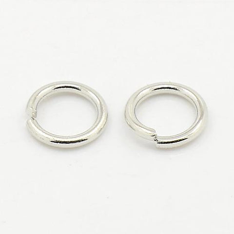 10MM NICKEL JUMP RINGS 25/PK - i-Bead,  NICKEL